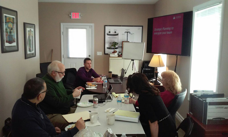 Leaders Serving Beaver County held a meeting in our new conference located in our Office in Beaver